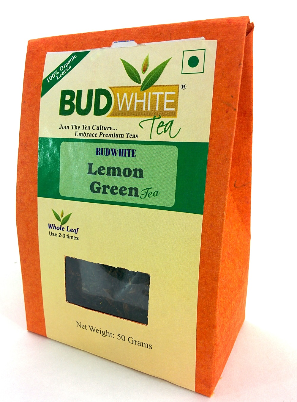 Lemon Green Organic Whole Leaf Tea