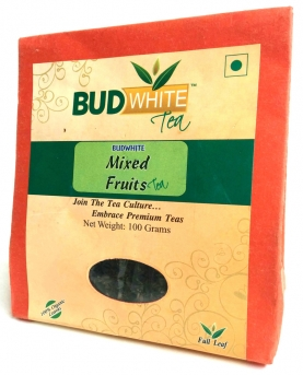 Mixed Fruit  Organic Whole Leaf Black Tea
