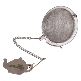 TEA INFUSER - STEEL BALL WITH LOGO - NFSBWW50B