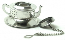 TEA INFUSER IN THE SHAPE OF A TAPERED KETTLE - NFSK58